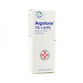 Argotone gocce posologia e utilizzo