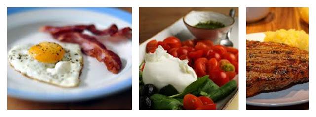 Menù dieta chetogenica