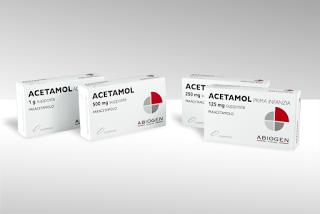 Acetamol paracetamolo