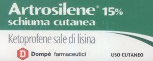artrosilene schiuma