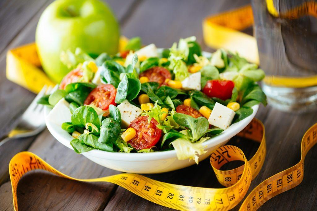 menu giornaliero dietetico iperproteico