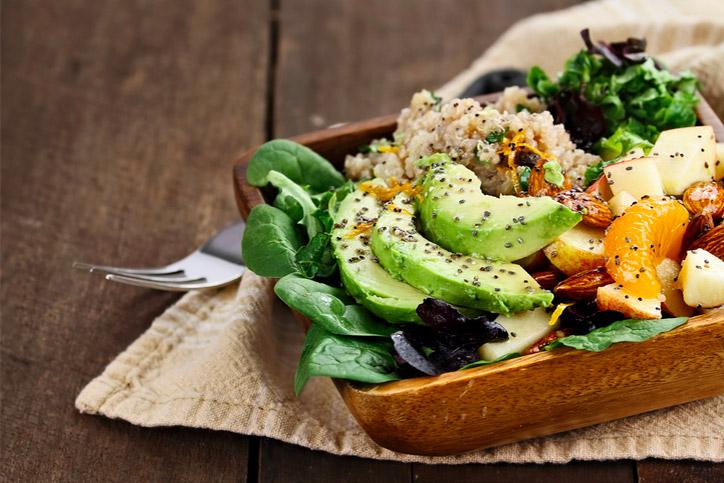 voglio mangiare bene e vivere in salute