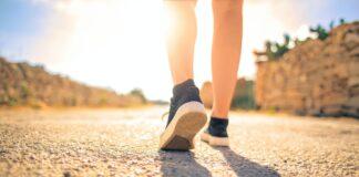 Camminare dopo distorsione alla caviglia